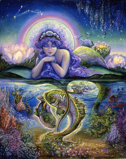วิธีทำนายความรักตามตำราปลาคู่