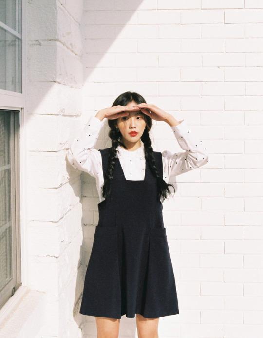แต่งตัวน่ารักแบบสาวเกาหลี