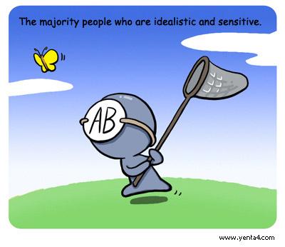 AB คนกรุ๊ปเลือด เอบี