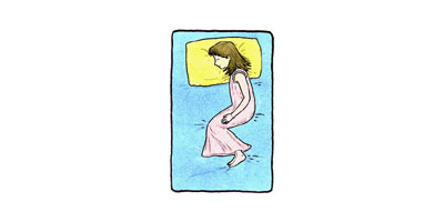 นอนทับแขนตัวเอง