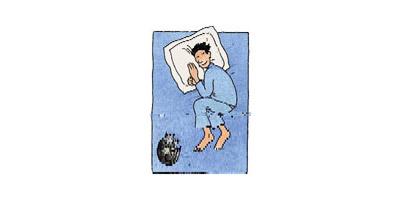 นอนคุดคู้