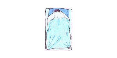 นอนคลุมโปง