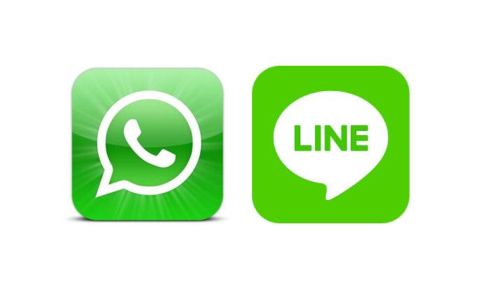 apps chat iphone messenger whatsapp รักทางไกล แชท แอพเด็ด