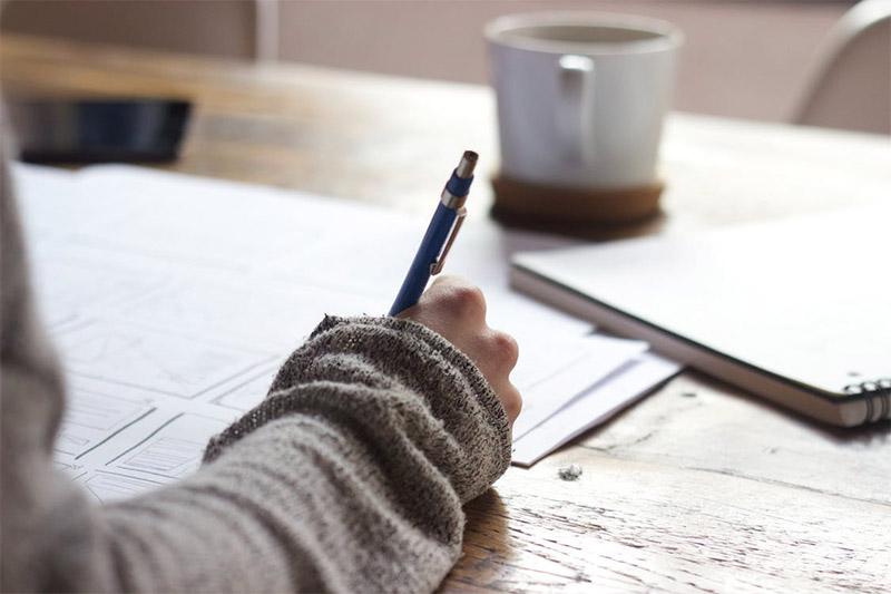 ดินสอ ทายนิสัย ทายใจ ปากกา