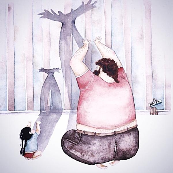 รวมภาพความน่ารัก! เมื่อคุณพ่อตัวโต อยู่กับลูกสาวตัวน้อย (7)