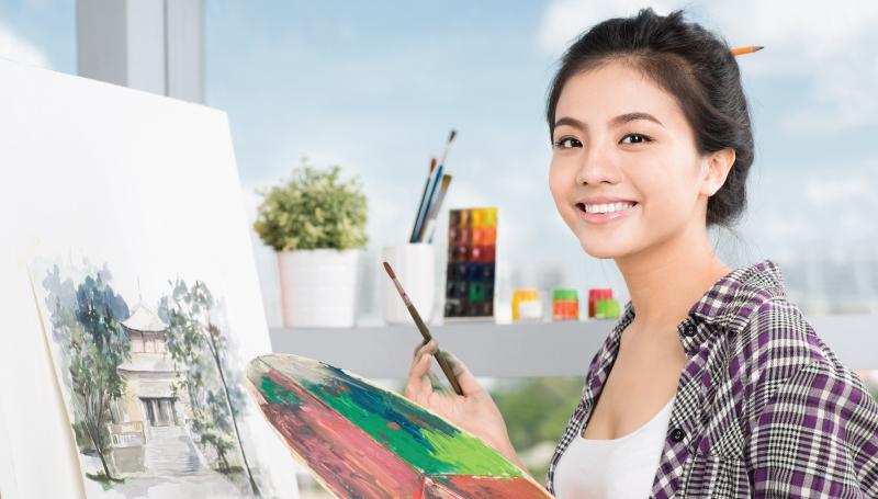 issue56 ทายนิสัย ทายใจ นักจิตรกรรม นักวาด