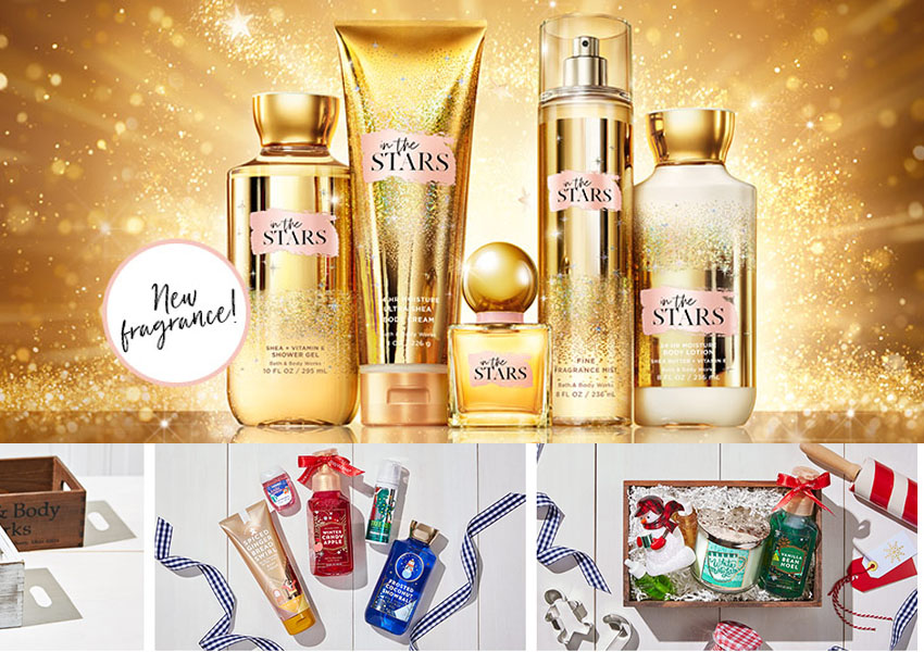 bath and body works - What Christmas small like