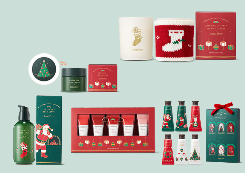 innisfree 2018 HOLIDAY LIMITED EDITION