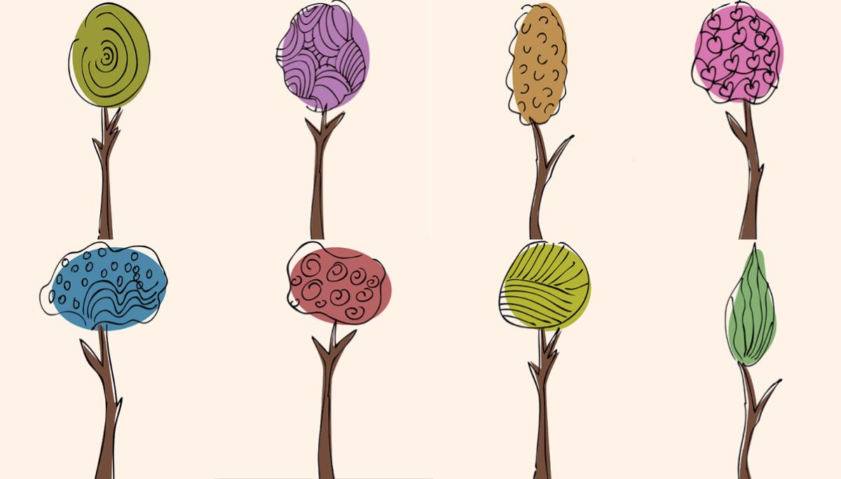 จิตวิทยา ต้นไม้ ทายนิสัย ทายนิสัยทายใจ ภาพที่เลือก เกมส์จิตวิทยา