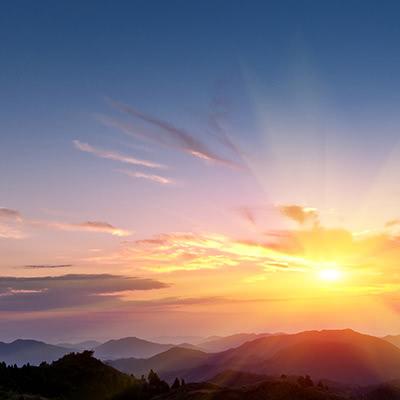 พระอาทิตย์ขึ้น